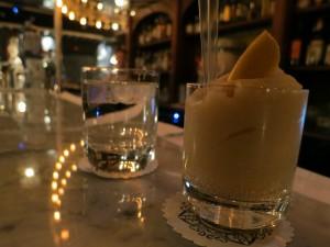 Frozen cocktail lulu white Paris