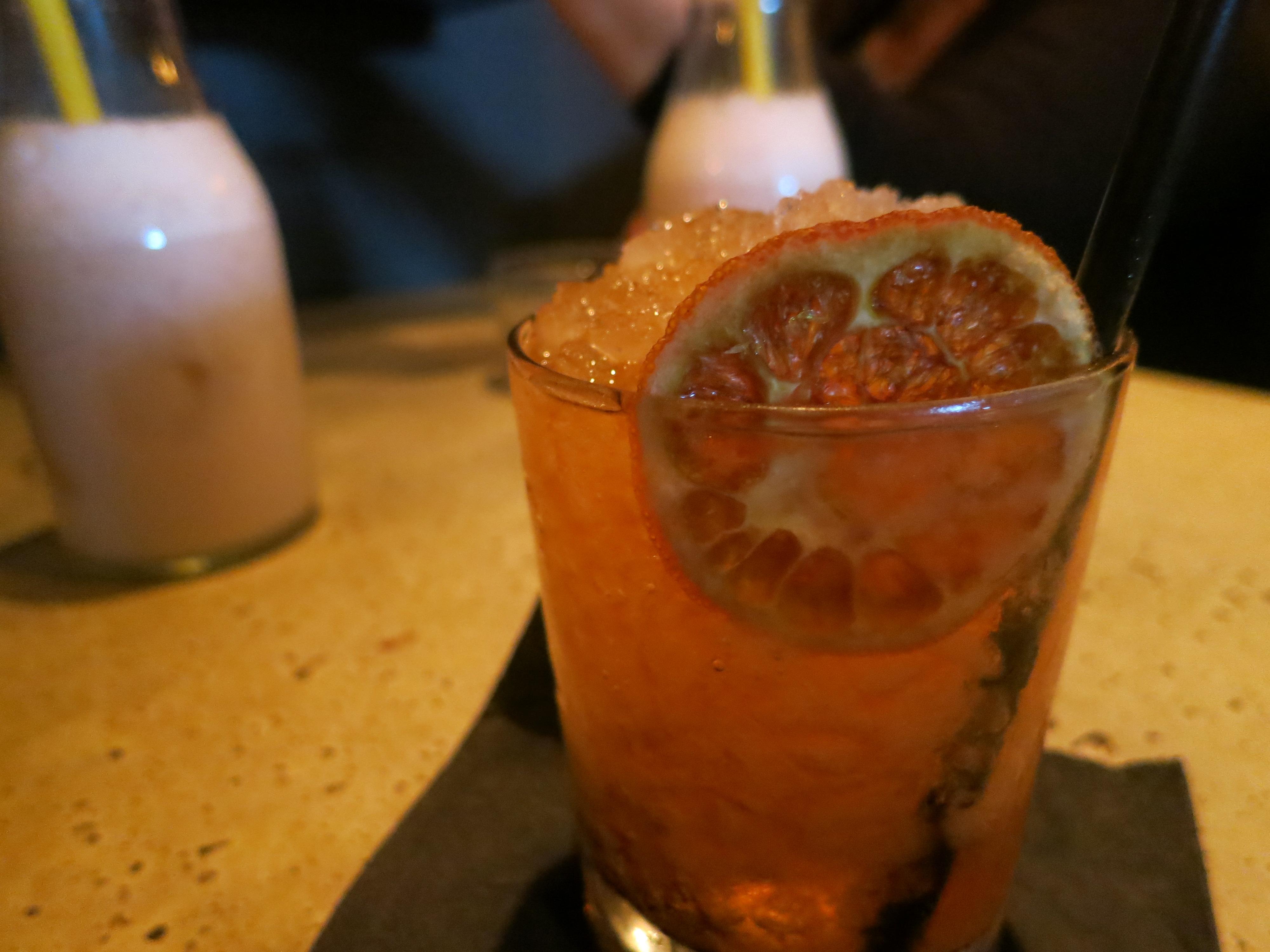 Death by Burrito cocktail paris