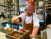 Paris mixologists at Ober Mamma